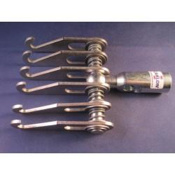 Gel-accu 12V/7Ah tbv verrijdbare LED lamp op statief