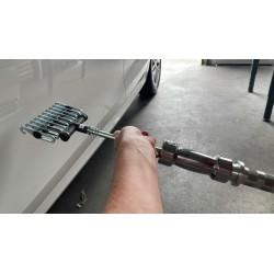 Verrijdbare dimbare LED lamp op statief (zonder accu)