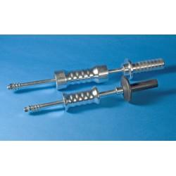 Lijmadapter 35mm blauw (5st)