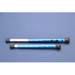Teleskoopset aluminium tbv PDR (2st)