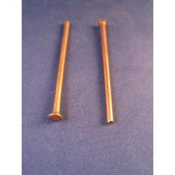 Lijmadapter 16mm blauw dimple (5st)