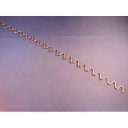 Lijmadapter 26mm blauw dimple (5st)