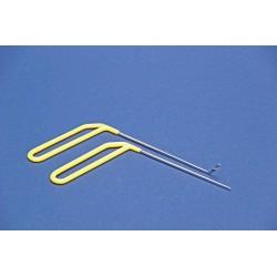 Stiftelectrode tbv Bi-puller (half rond)