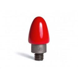 Lijmadapter 12x25mm blauw dimple (5st)