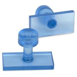 """Manometer werkdruk onderaansluiting ¼"""" Acetyleen 0-2,5 bar 63mm"""