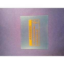 Buitenglas Shademaster 300 90x110mm