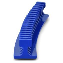 Lasschild met 51x108mm ruit
