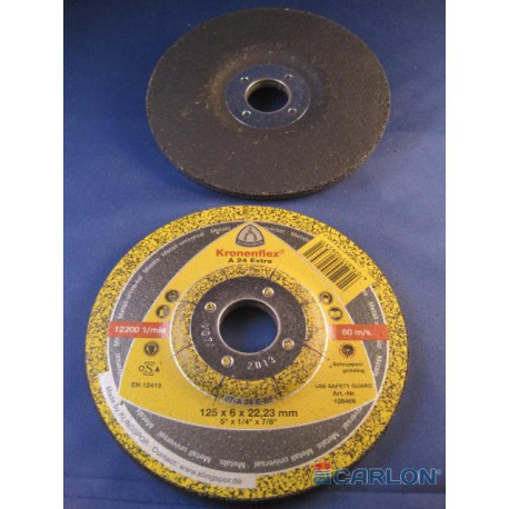 Afbraamschijf metaal 125x6,0x22,23mm