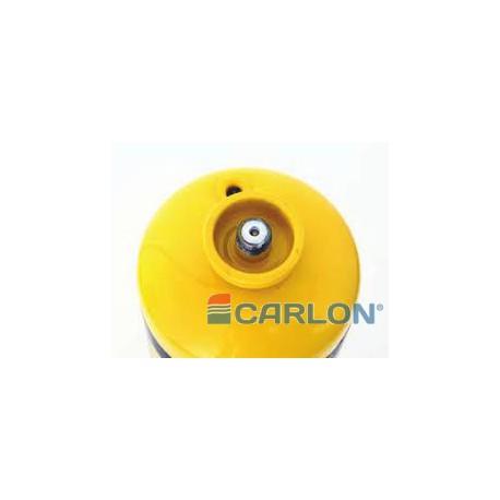 Minidisc vlies 76mm grof Carloc (bruin)