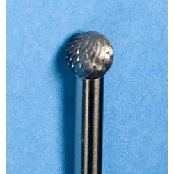 Stiftfrees hardmetaal kogel 8mm