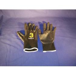 Handschoen varkensnerf gevoerd