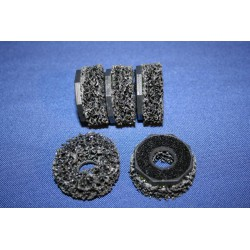 Reserve Power wheel 40mm achtkant tbv naaftapeinden (5st)
