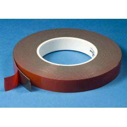 Adhesive tape grey 6mm (10m)