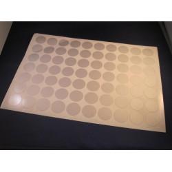 Deurmaskeerstickervel A4 zwart structuur 40mm (35st)