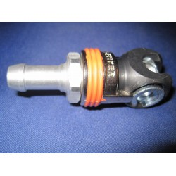Veiligheidsluchtknikkoppeling C/25 10mm slangpilaar