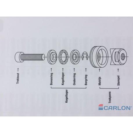 Airfit moer tbv 14mm slang (buitendiameter)