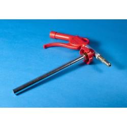 Assortimentsbox PP blauw 1-vaks 335x225x55mm