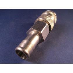 Lasdraad kunststof PP flex zwart 1,6x10mm staaf 450gr