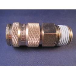 Lasdraad kunststof PP zwart 1,6x19mm staaf 450gr