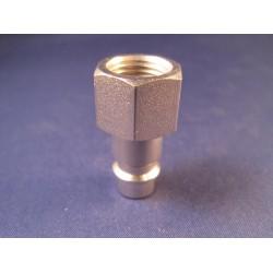 """Lasdraad kunststof PP zwart 1/8""""/3mm 30cm rond staaf (15st)"""