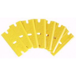 Reservemes kunststof geel tbv 501407 (100st)