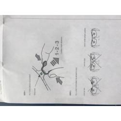 Reserveglas slijpbril Pulsafe Flexsseal
