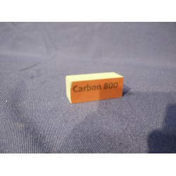 Polijstblok Carbon P800 (rood)