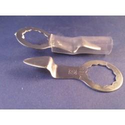 Schuurband Zirkon 330x10mm k120 (10st)
