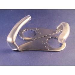 Sokkel zwart kunststof tussen 515101 en 515271