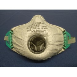 Lasdampmasker FFP3D Polo met ventiel (5st)