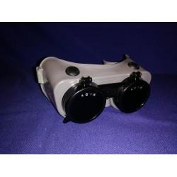 Maskertrommel 1,8L transparant/blauw