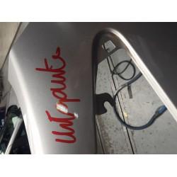 Aanlasdriehoek verkoperd 10mm Carlon (20st)